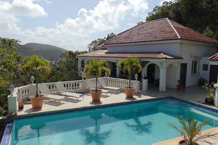 Chambre privée vue sur lagon - Villa