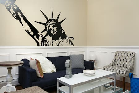 Gatehouse - Times Square 15 min away 1 Bdrm Wifi! - Weehawken - Appartement