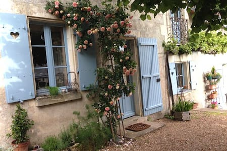 La Maison Bleue du Puy - Avon-les-Roches - Lejlighed