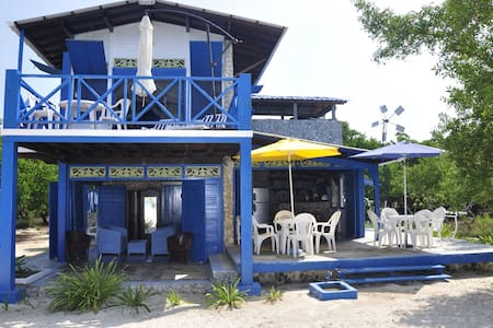 Baru Beach House w 80m private white sand Beach! - Baru