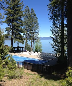 This nicely updated town home is conveniently located just 1/4 mile from downtown Tahoe City and is a part of the deluxe Tahoe Tavern Properties. Great location- close to Alpine, Squaw and Homewood ski resorts.  Easy winter access.