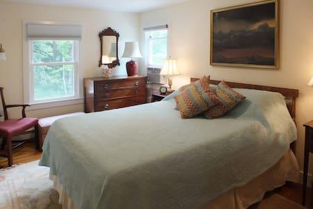 Bedroom with King bed and En suite bath - Salisbury - Bed & Breakfast