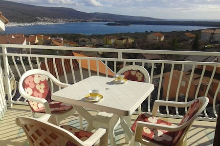 The most beautiful view in Krk - Flat
