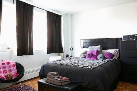 Spacious Studio Downtown Montreal - Appartement