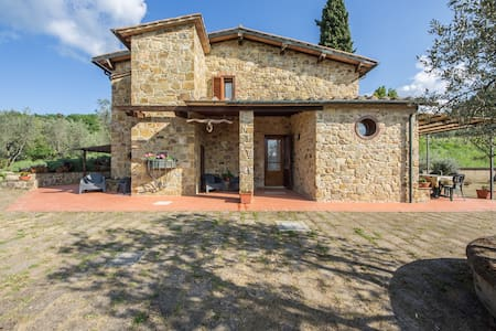 """IL GUGNOLO""  Casale in Val d'Orcia - House"