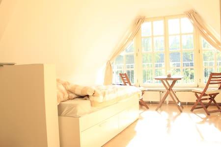 Gemütliche, helle 1 Zimmer Wohnung in Elbvororten - Hambourg