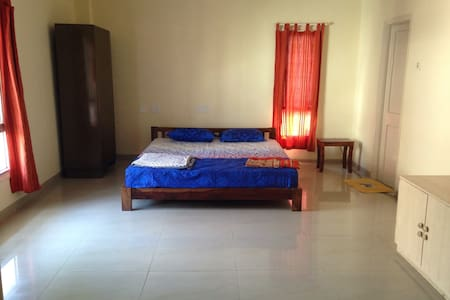 Central spacious all equipped room