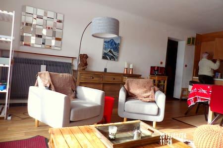 Ensoleillé T2/3 rez jardin GdConf. 2/5 couch. WiFi - Font-Romeu-Odeillo-Via - Apartment