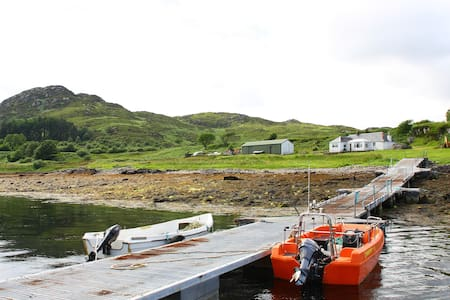 Whole Private Island: Carna Cottage - Acharacle