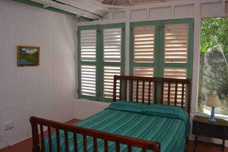 The Green House with sea views - Pointe Carib - House