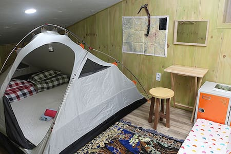 Basecamp Double room( Tent Room) - Bed & Breakfast