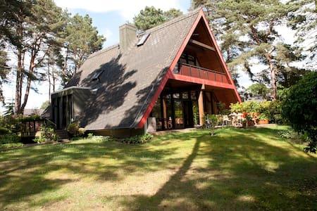 Idyllisches Ferienhaus  in Abbensen - Huis