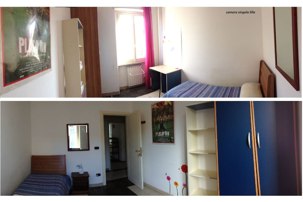 Single rooms in the city center