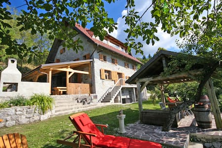 Superb Stone Villa With Super Views - Kal nad Kanalom