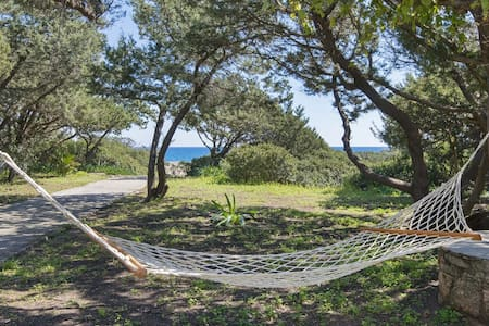 beachfront Akti ground floor for 4 person sea view - Villa