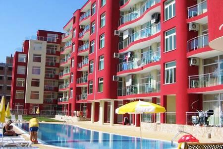 квартира Sunny beach Болгария центр