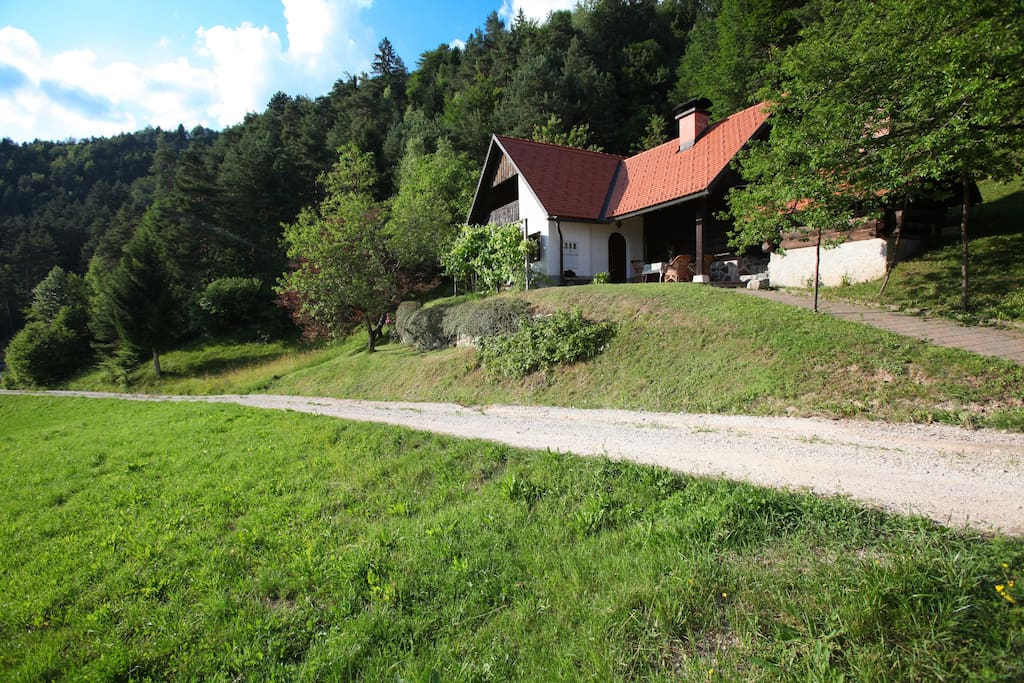 The chalet is ridiculously close to the Ljubljana ( 45 minutes by car from the city center ) which you would never know :)