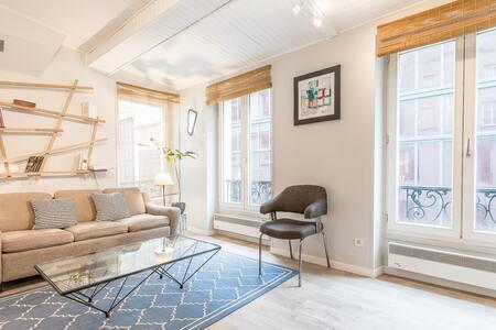 PARIS CENTRE trendy appartement 10e