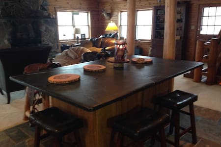 Log home, the Pope and Free Golf!  - Royersford - House