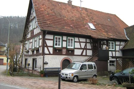 Back too the roots, Fachwerkhaus,  - Rumah