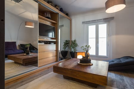 20meters from palais beach central - Cannes - Apartment