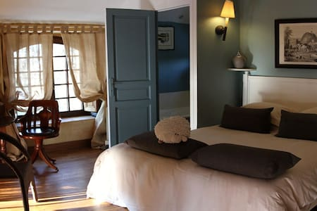 Cottage room-Private Chateau Loire - Kasteel