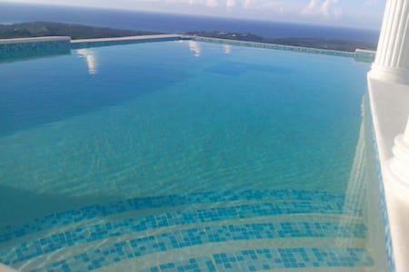 Bungalow sur loma - Vue mer - Las Terrenas - Bungalow