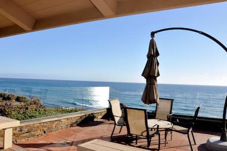 Oceanfront Private Encinitas Home
