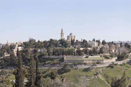 THE most beautiful Jerusalem view ! - Gerusalemme - Villa
