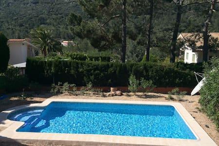Spanish Villa with Private Pool - Barx - Casa