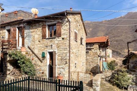 Bel rustico in Valbrevenna (1) - Tonno - Haus