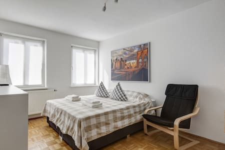 Relaxing room in the city center - München - Apartment