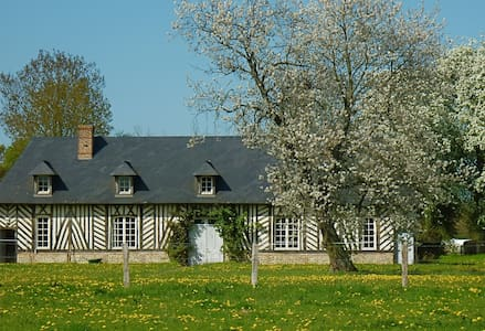 Charming large timber house - Lieurey - House