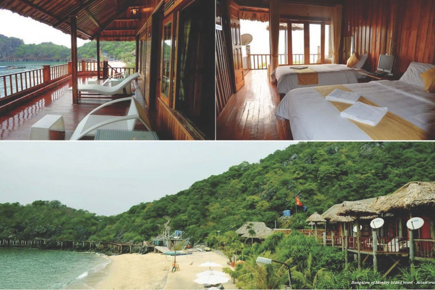 Halong Bay Deluxe cruise & bungalow