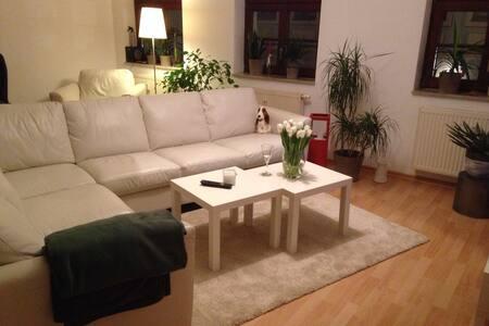 Wohnen inmitten des Barockviertels - Apartamento