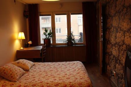 A nice B&B room, central Stockholm - Stockholm - Bed & Breakfast