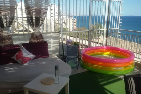 Nice Studio with fantastic sea view - Pireas - Lägenhet