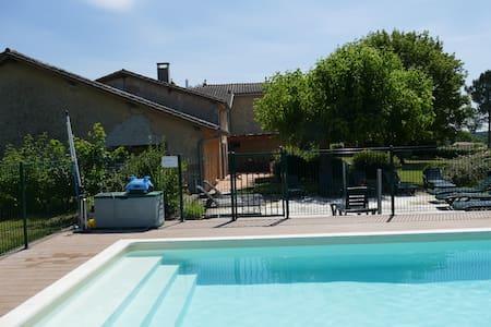 Propriété familiale en Gironde à 25 mn de Bordeaux - Bazas - Ev