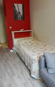 Cosy and Clean studio very near historic center - Gent - Apartment