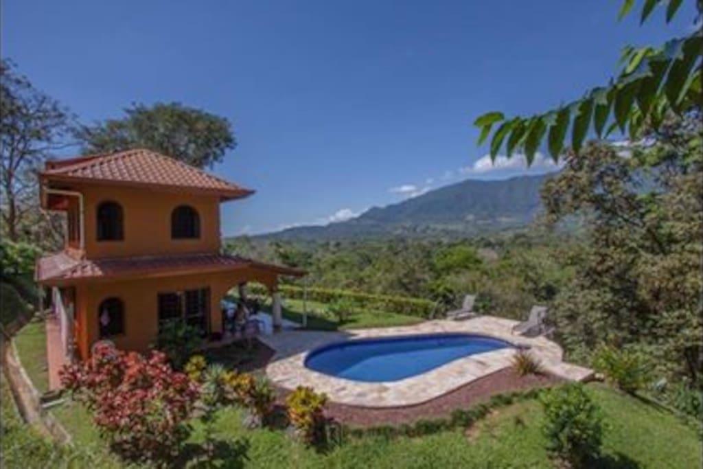 Private home in Ojochal, Costa Rica