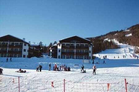 Bo ski INN/UT på Norefri, Norefjell - Appartement