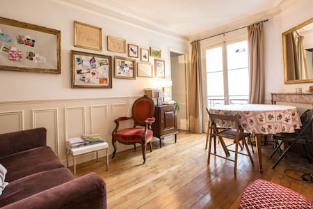 BEAUTIFUL TWO ROOMS IN CENTER PARIS