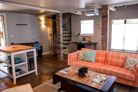 Trendy Loft 2 Steps from the Plaza District - Oklahoma City - Loft