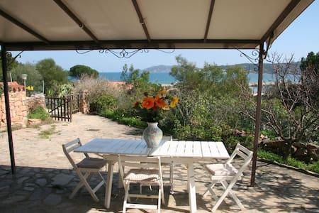 Pietra: 100m to beach & sea view  - Casa