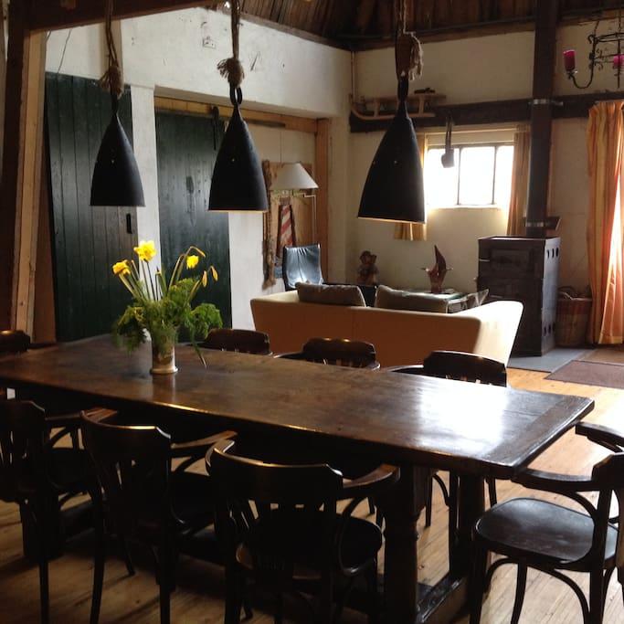 Farmhouse on the island of Texel