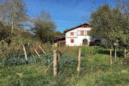 Etxeberria : Gîte à la ferme à Saint Esteben - Hélette