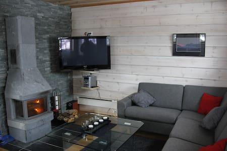 Moderne hytte med gode fasiliter - Cabana