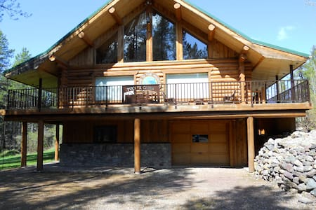 The Tucker Lodge - 2.5 miles from Glacier Park - West Glacier - 樓中樓