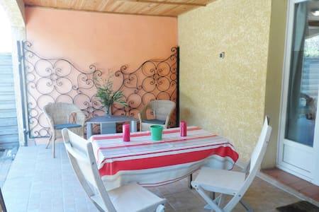 T3 chambres et jardin privé - Ortaffa