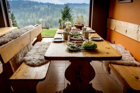 Kwatera uKasi - pokój 3osobowy z balkonem na Tatry - Bed & Breakfast